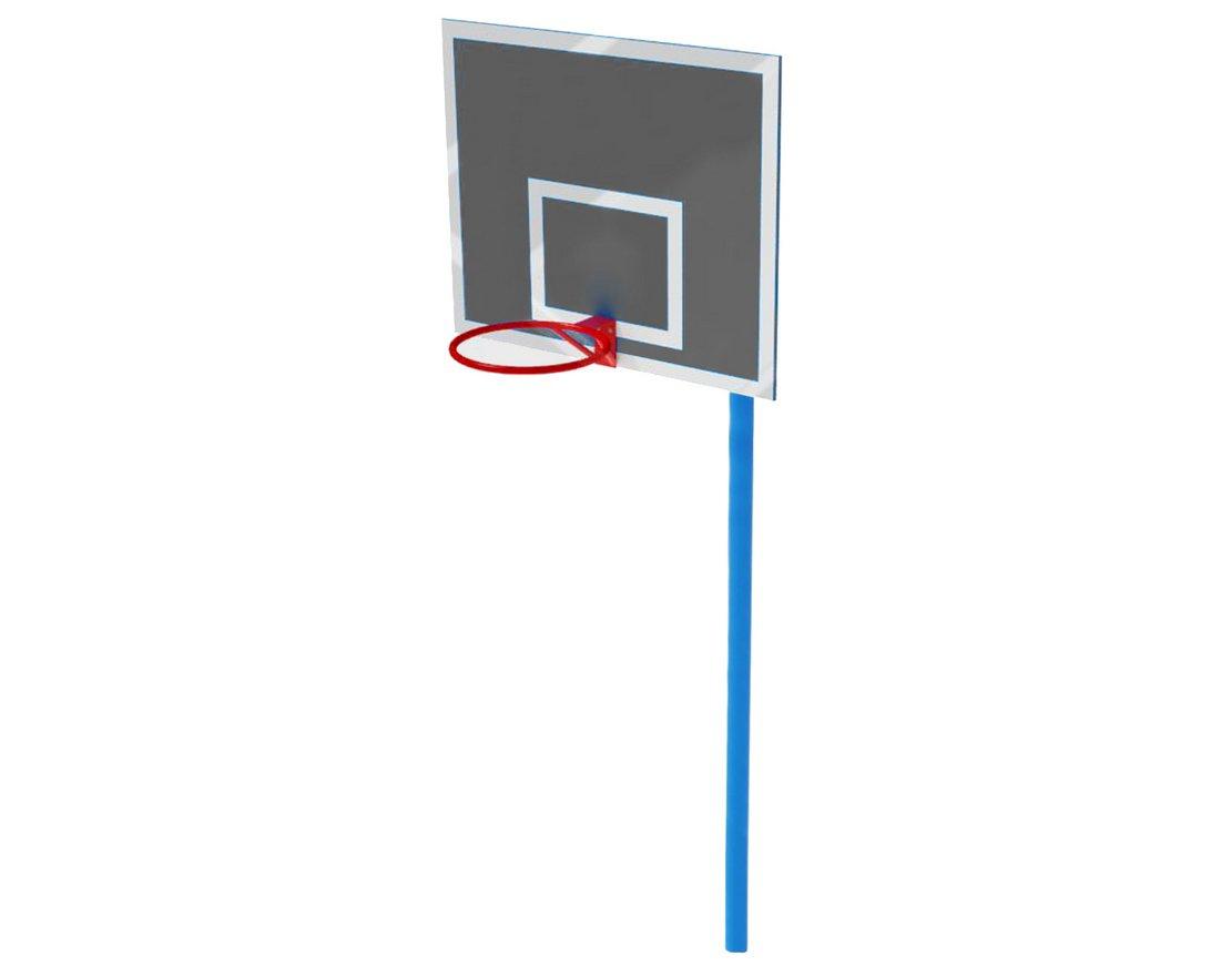 Стойка под баскетбольное кольцо своими руками 92
